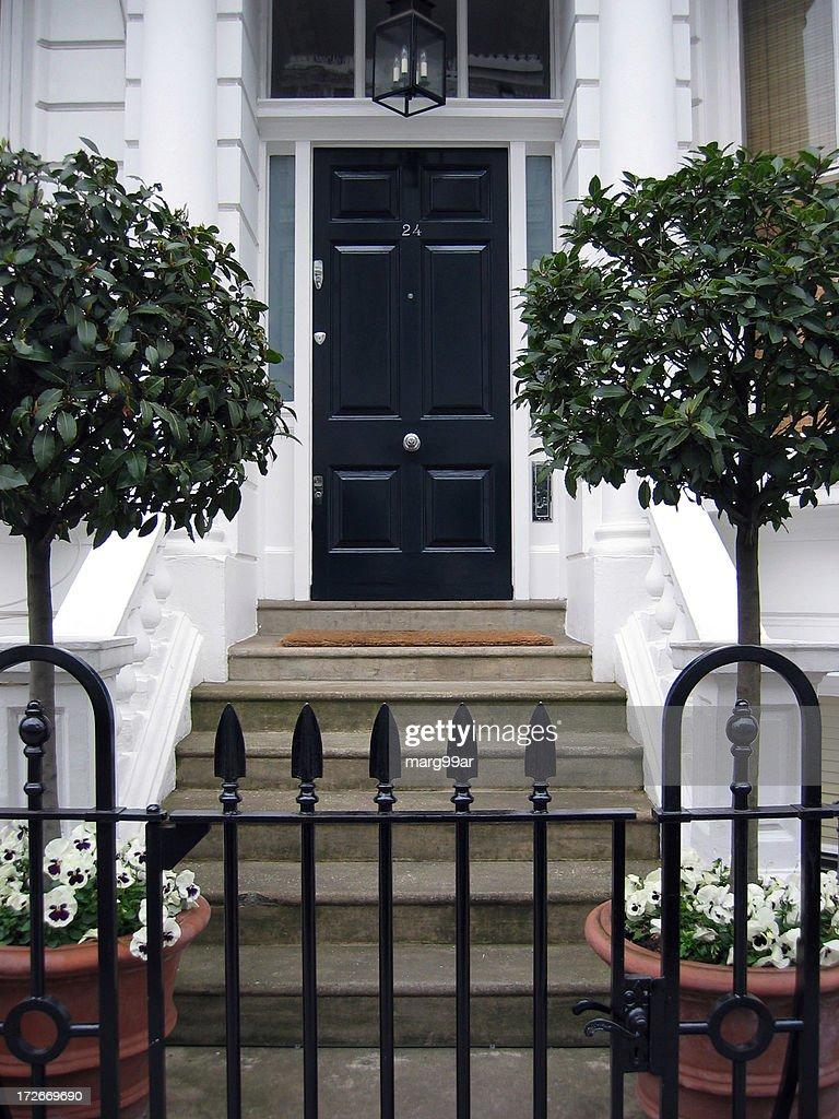 London front door : Stock Photo