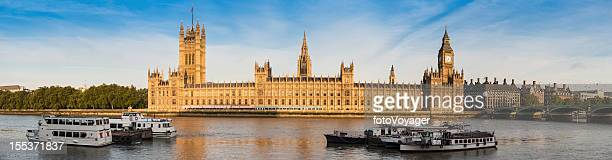 London Houses of Parliament Big Ben Westminster Palace panorama