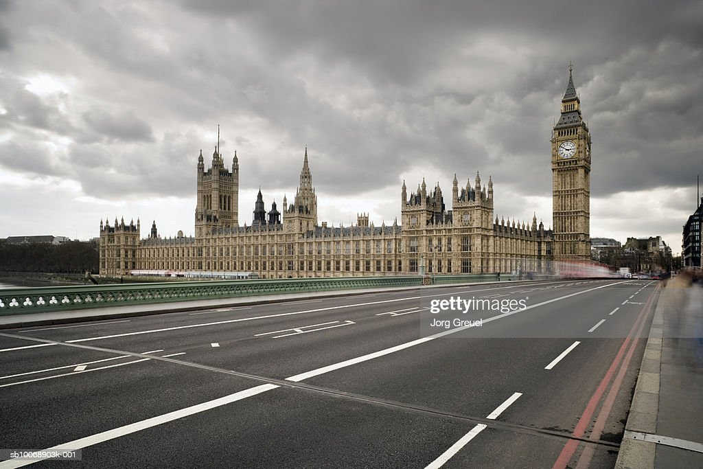UK, London, Houses of Parliament, Westminster Bridge