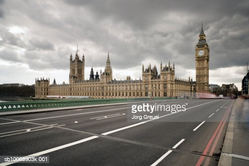 UK, London, Houses of Parliament, Westminster Bridge