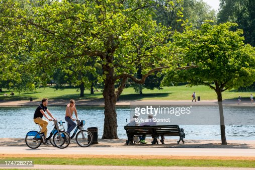 London, Hyde Park in summer