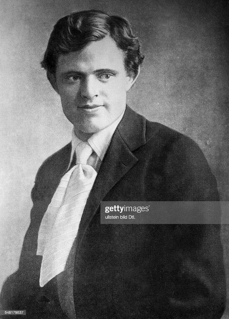London Jack Writer Journalist USA *12011876 Portrait ca 1900 Vintage property of ullstein bild