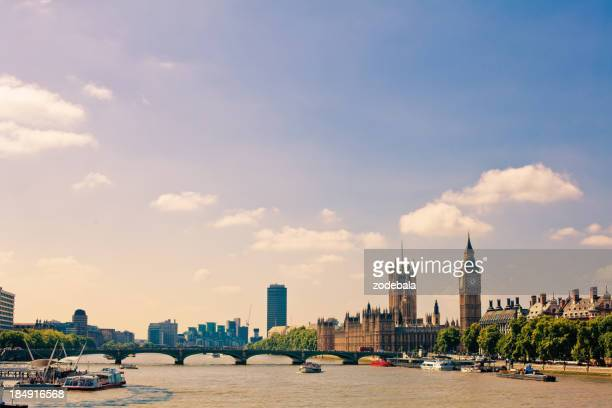 London Landmarks, Big Ben and House of Parliament