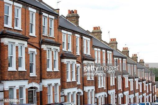 London Mansion blocks