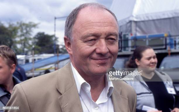 London Mayor Ken Livingstone at Respect Festival Finsbury Park London 21st July 2001