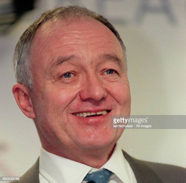 London Mayor Ken Livingstone at the Greater London Assembly in London after Deputy Prime Minister John Prescott and Transport Commissioner Robert...