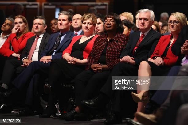 London Mayor Sadiq Khan Shadow Secretary of State for Education Angela Rayner Shadow Secretary of State for Exiting the European Union Keir Starmer...