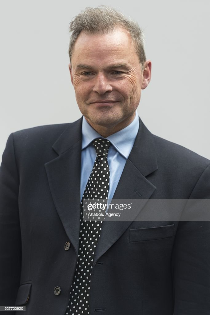 London Mayoral candidate Peter Whittle at the launch of the final UKIP party election campaign poster for London Elections focussing on immigration in London, United Kingdom on May 03, 2016.