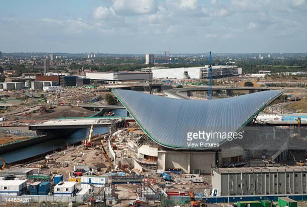 London Olympic StadiumLondon E15 United Kingdom Architect Populous 2012 London Olympic Aquatics Centre Zaha Hadid Architects 2010 General View From...