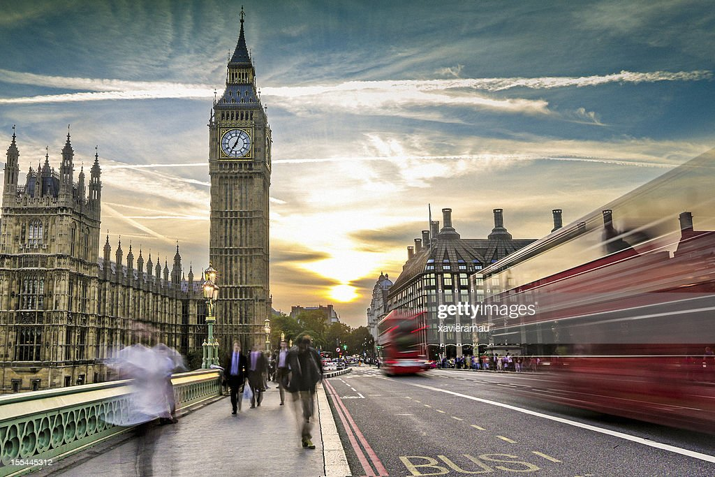 London on the move : Stock Photo