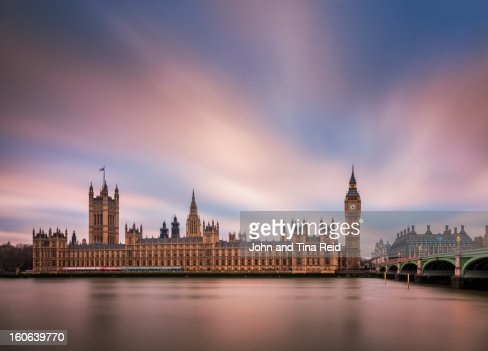 London - Palace of Westminster : Stock Photo