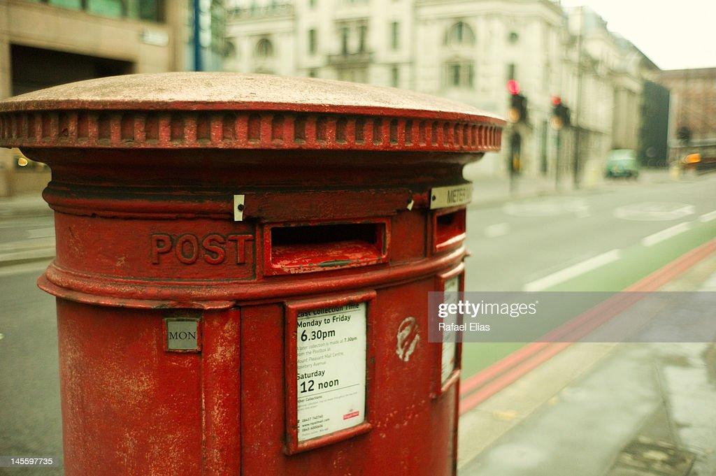 London post box : Stock Photo