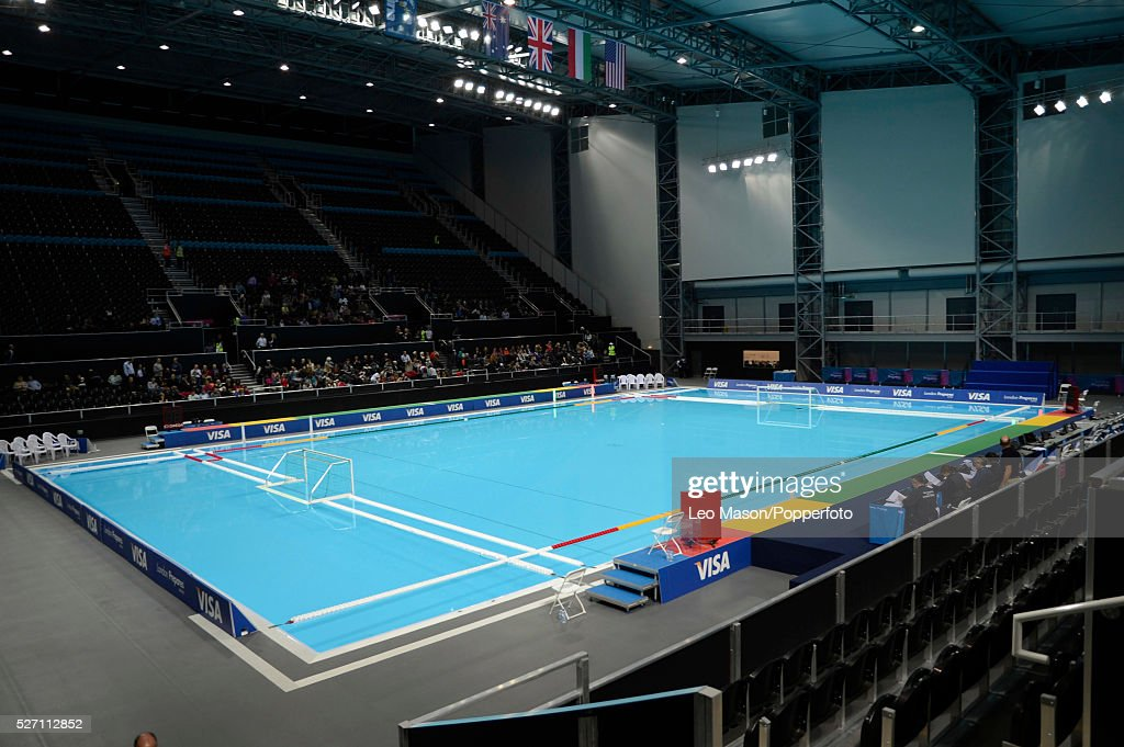 London Prepares Series Olympic Park Venues Water Polo Arena