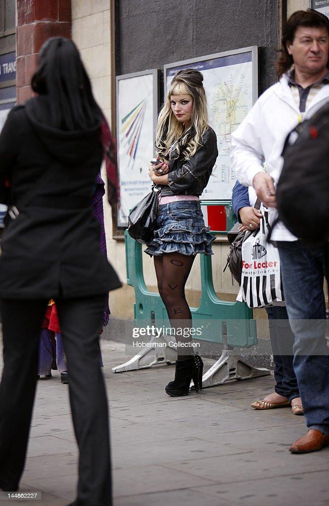 London Punk Girl Camden High Street