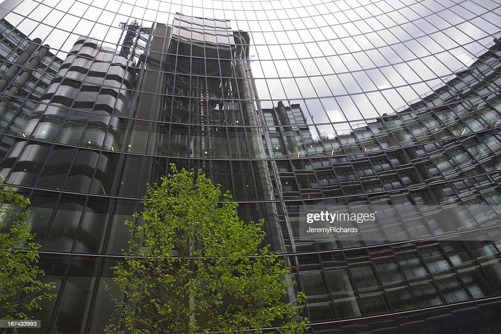 Londres de reflexos : Foto de stock
