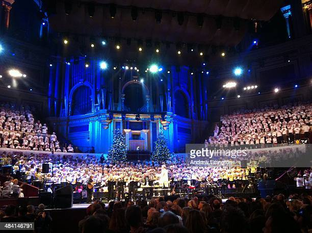 London Royal Albert Hall interior during concert
