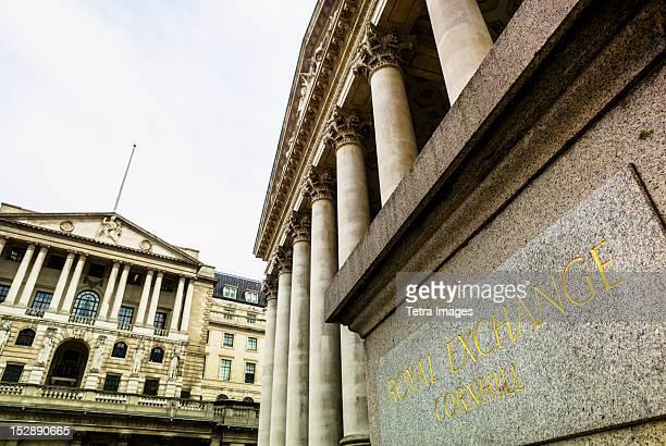 UK, London, Royal Exchange