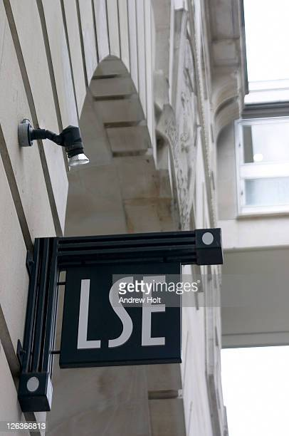 A London School of Economics (LSE) sign, London. The London School of Economics and Political Science (LSE) is a world class centre for its concentration of teaching and research across the full range of the social, political and economic sciences. Founded
