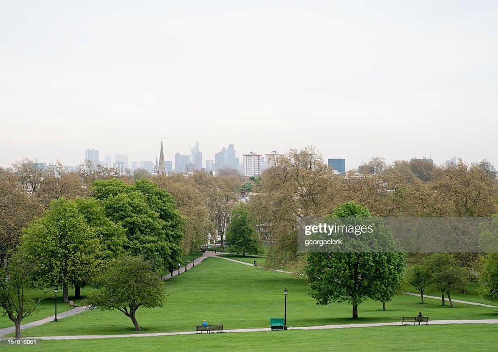 London Sky from Primrose Hill