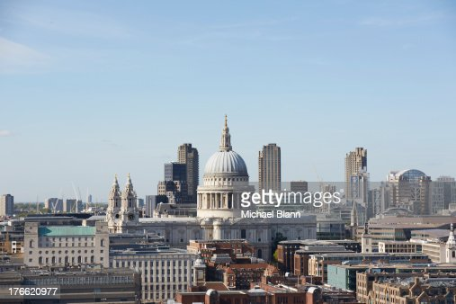 London Skyline and landmarks
