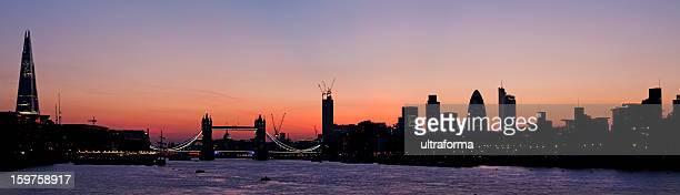 London - Skyline at dusk