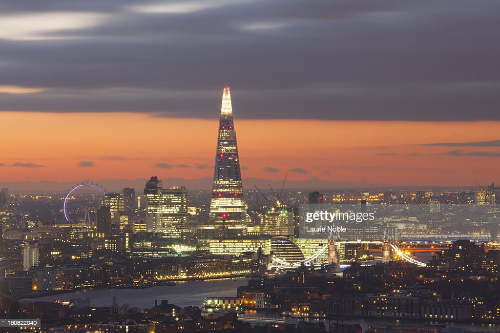 London skyline, London, England : Stock Photo