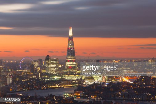 London skyline, London, England : Bildbanksbilder