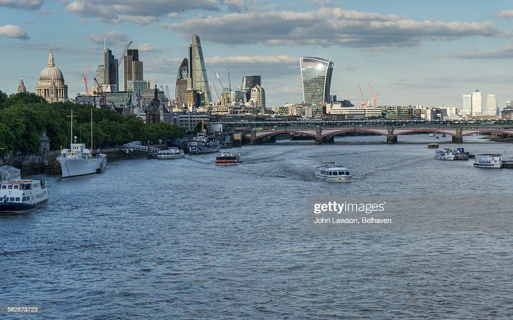 London skyline, London