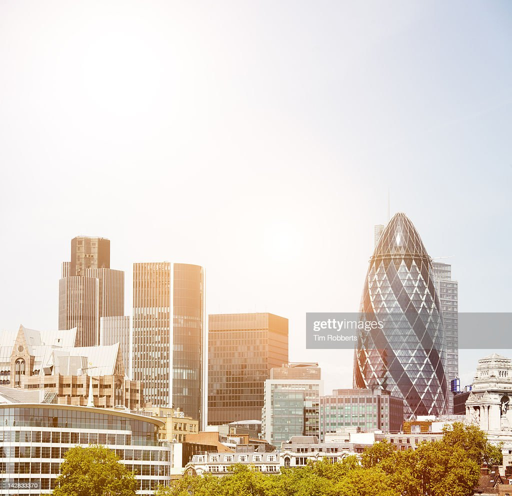 London skyline. : Stock Photo