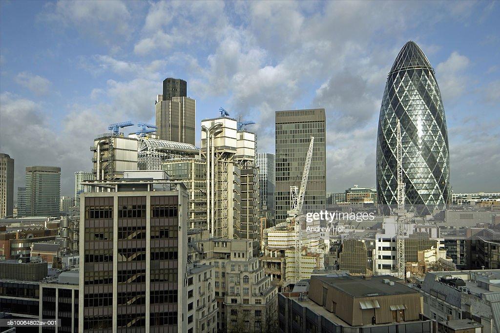 UK, London skyline : Stock Photo
