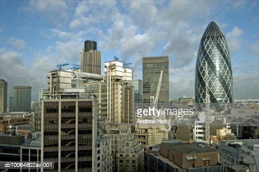 UK, London skyline : Stock Photo