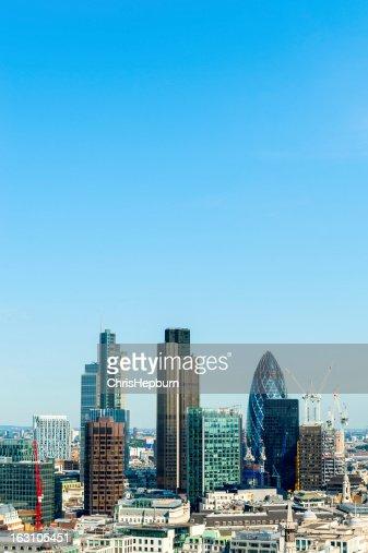 London Skyscraper Cityscape
