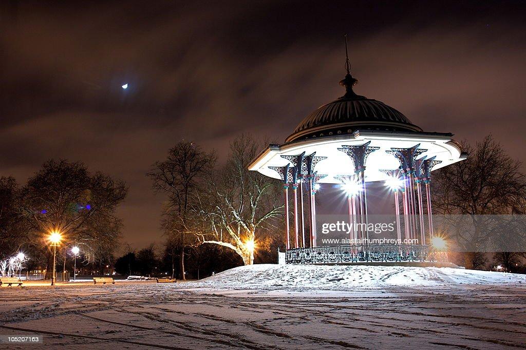 London snow : Stock Photo