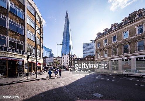 UK, London, Southwark, View of The Shard