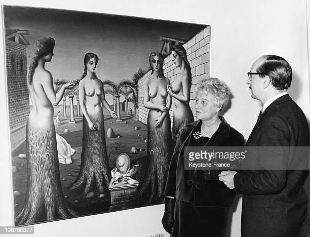 London Tate Gallery Peggy Guggenheim And Norman Reid Director December 30Th 1964