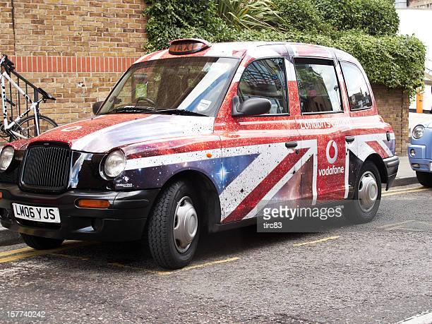 Unione Jack London taxi in livrea