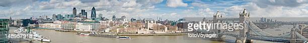 London Tower landmarks panorama