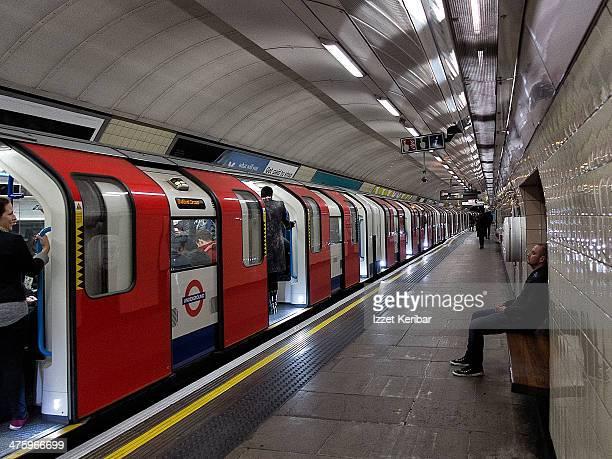 London Tube scene