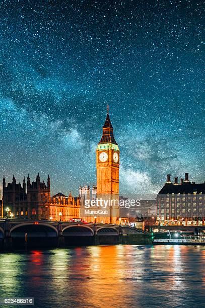 London under the stars