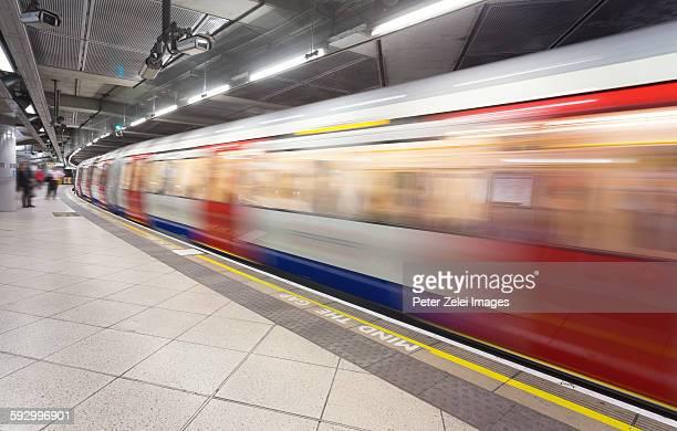London underground scene