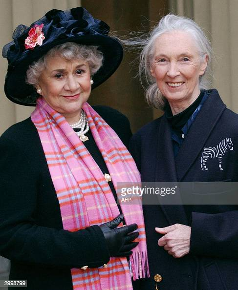 actress joan plowright l and jane good pictures getty