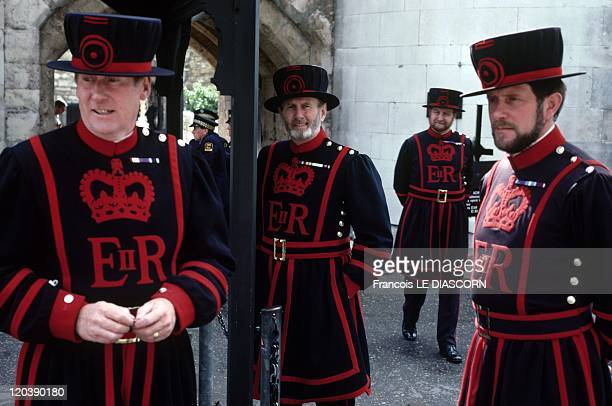 London United Kingdom Beefeater Tower of London
