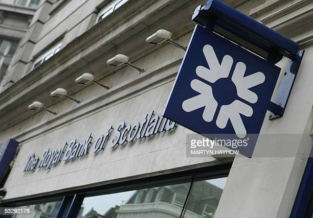 View of The Royal Bank of Scotland building in the Haymarket in London 27 July 2005 Royal Bank of Scotland the secondbiggest British bank will buy as...