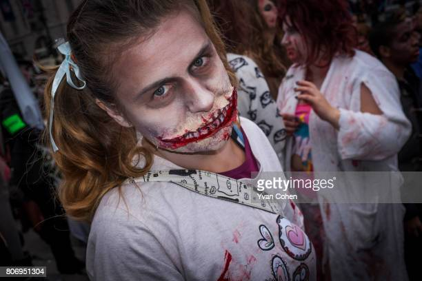 London was invaded by Zombies for World Zombie Day The Zombies terrified and thrilled tourists and passers by