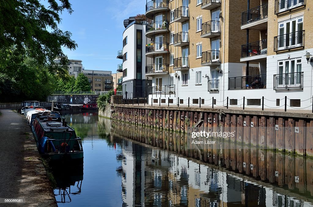 London Waterway and flats