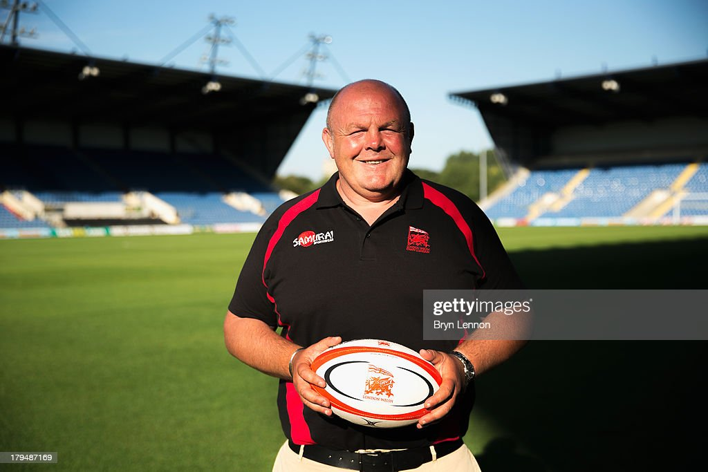 London Welsh Head Coach Justin Burnell poses for a portrait during a London Welsh Media Day at the Kassam Stadium on September 4, 2013 in Oxford, England.