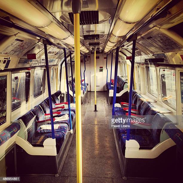 London's Piccadilly Line Tube train