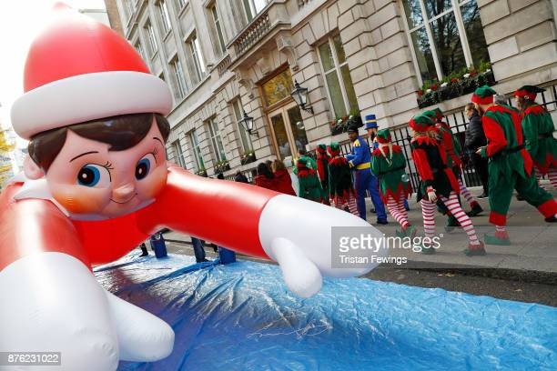LondonÕs Regent Street was transformed into a festive wonderland today as over 800000 revellers enjoyed the Hamleys annual Christmas Toy Parade Now...