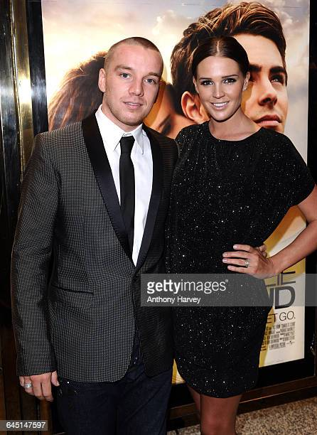 Danielle Lloyd and Jamie O'Hara attend 'The Death and Life of Charlie St Cloud' Premiere at the Empire Cinema Leicester Square on September 16 2010...