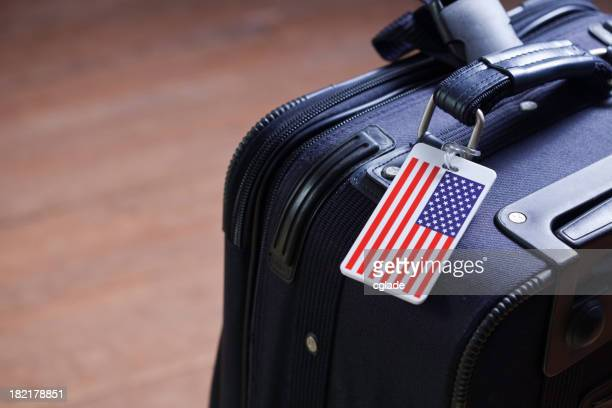 Lone American Suitcase